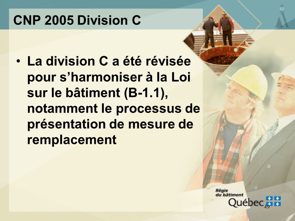 CNP 2005 Division C