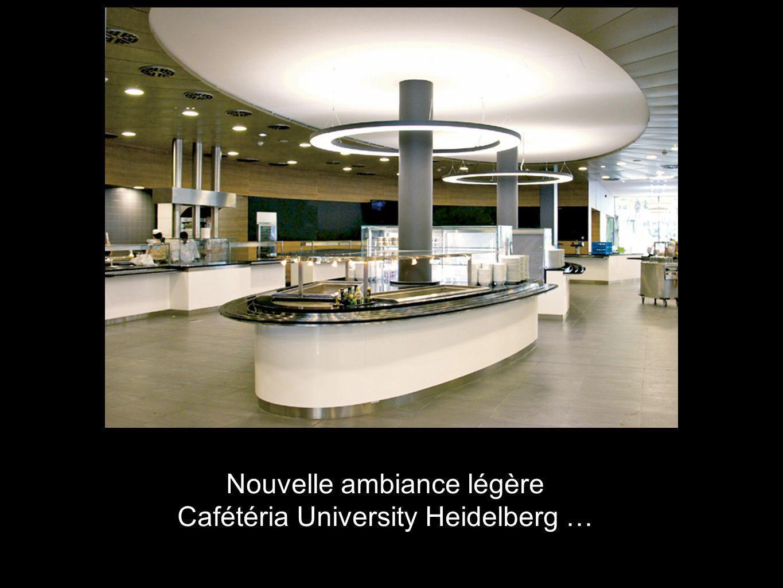 Nouvelle ambiance légère Cafétéria University Heidelberg …