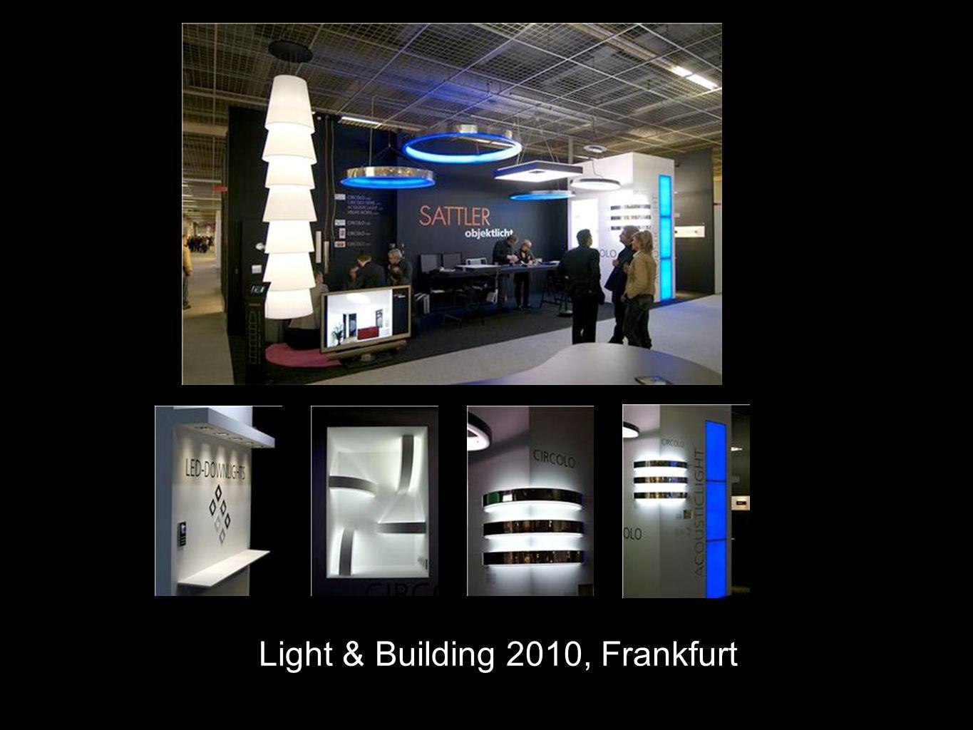 Light & Building 2010, Frankfurt