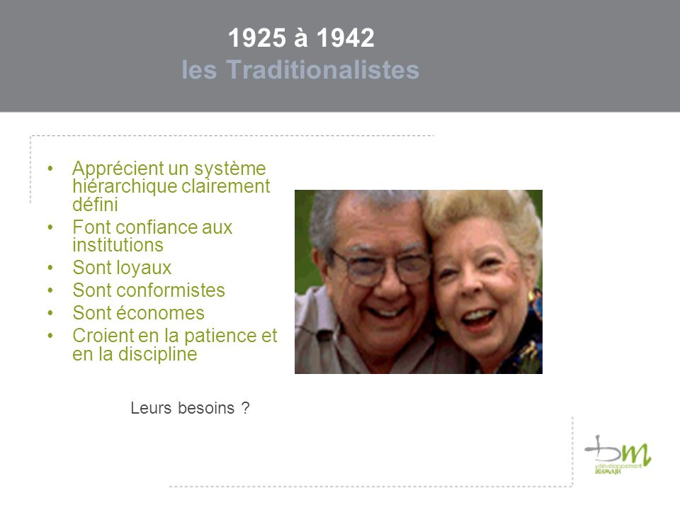 1925 à 1942 les Traditionalistes