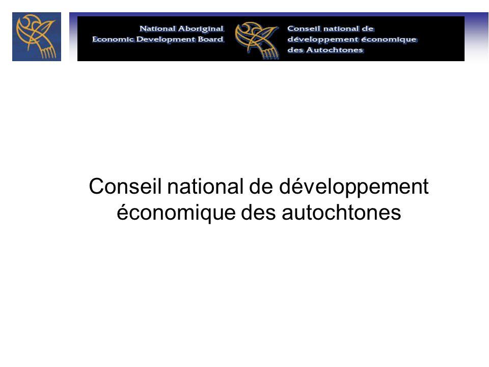 Conseil national de développement économique des autochtones