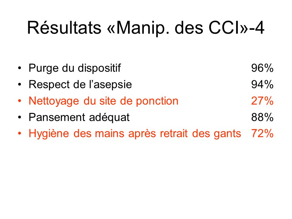 Résultats «Manip. des CCI»-4