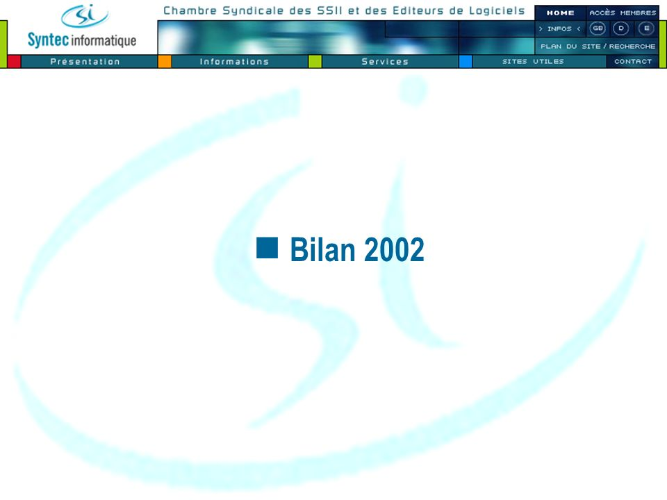 Bilan 2002