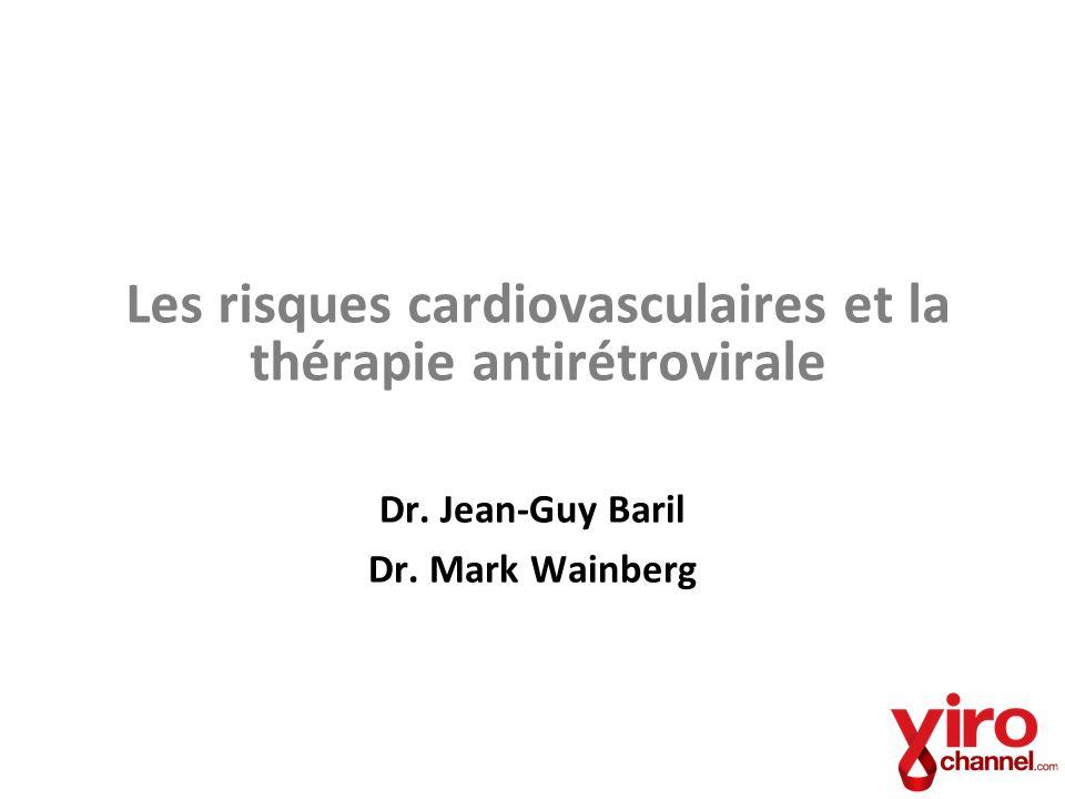 Les risques cardiovasculaires et la thérapie antirétrovirale