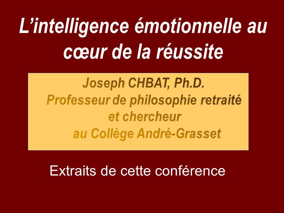 L'intelligence émotionnelle au cœur de la réussite