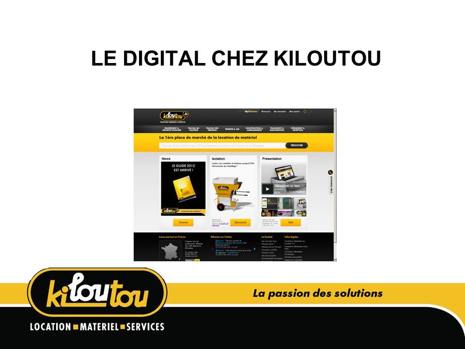 LE DIGITAL CHEZ KILOUTOU