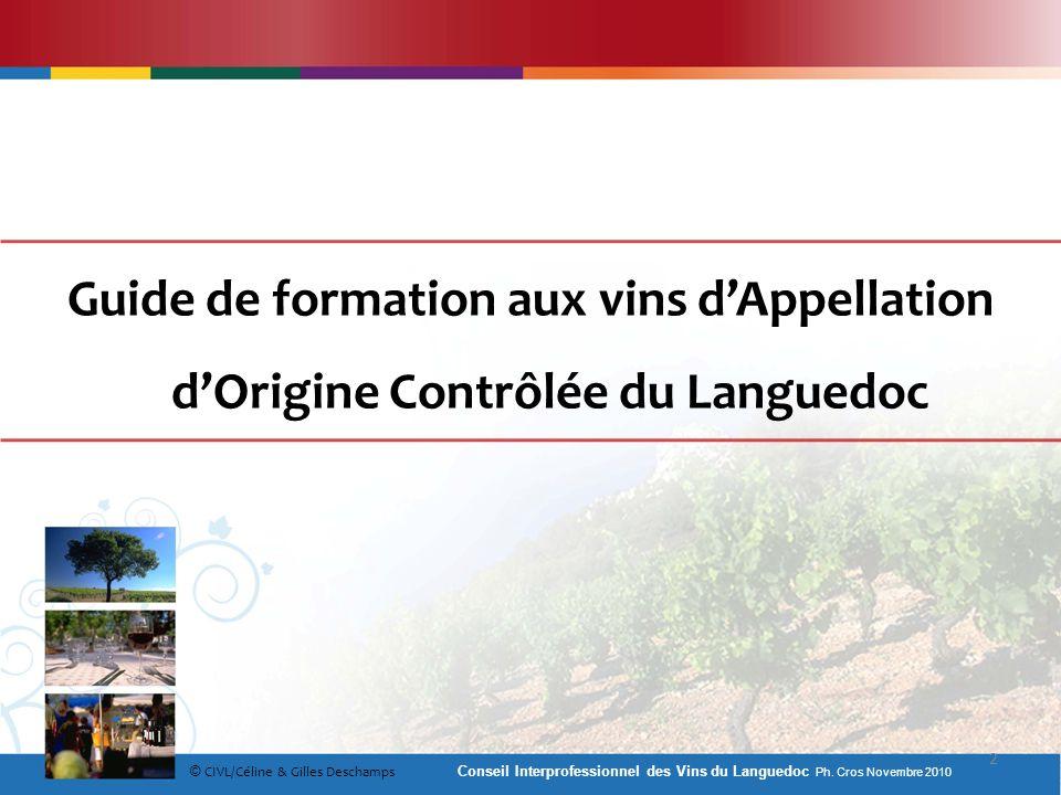 Guide de formation aux vins d'Appellation d'Origine Contrôlée du Languedoc