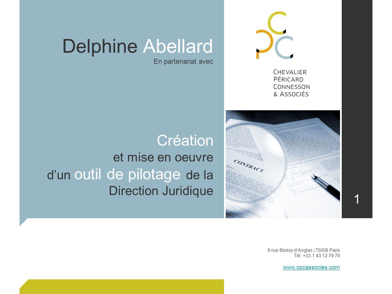 Delphine Abellard Création et mise en oeuvre