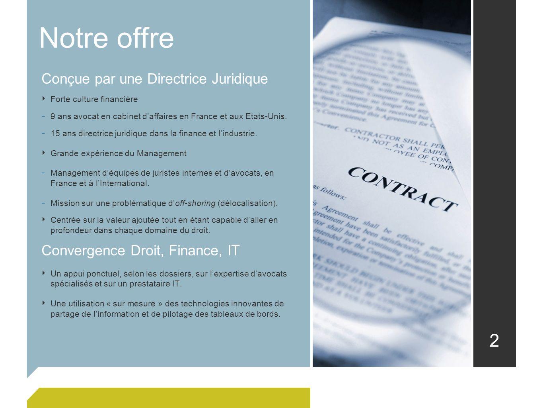 Notre offre 2 Conçue par une Directrice Juridique