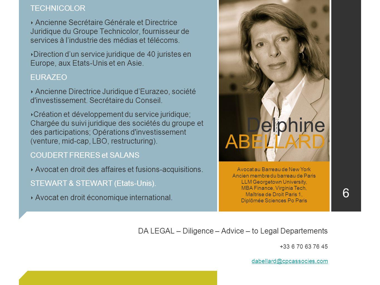 Delphine ABELLARD TECHNICOLOR