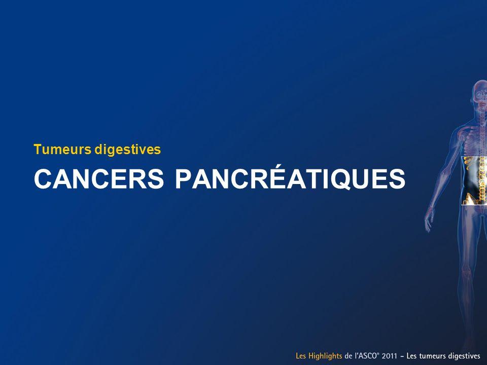 CANCERS PANCRÉATIQUES
