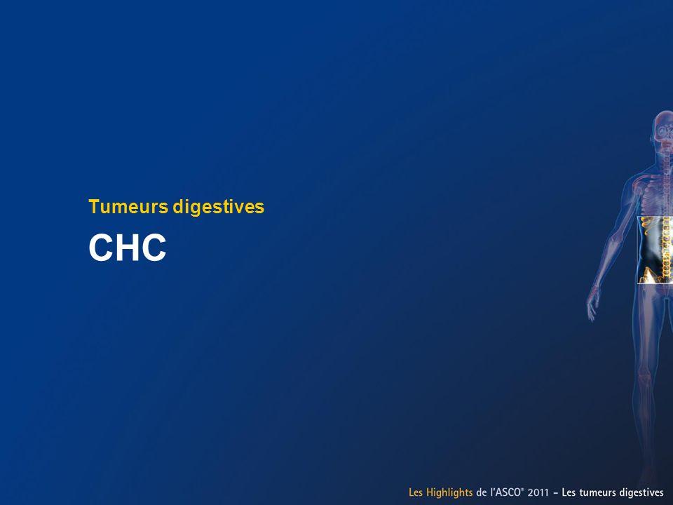 Tumeurs digestives CHC