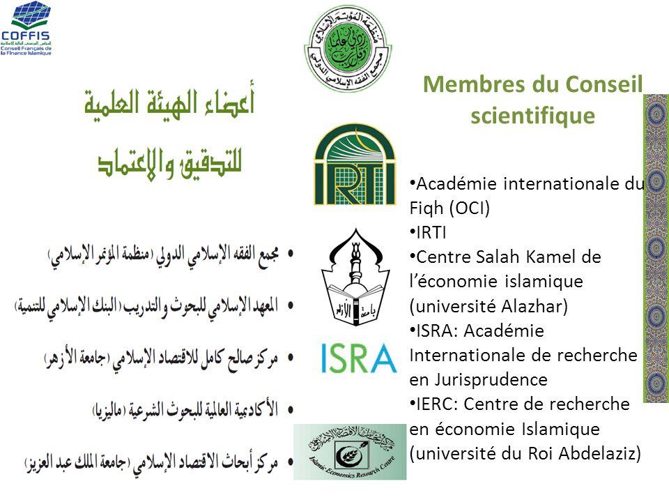 Membres du Conseil scientifique