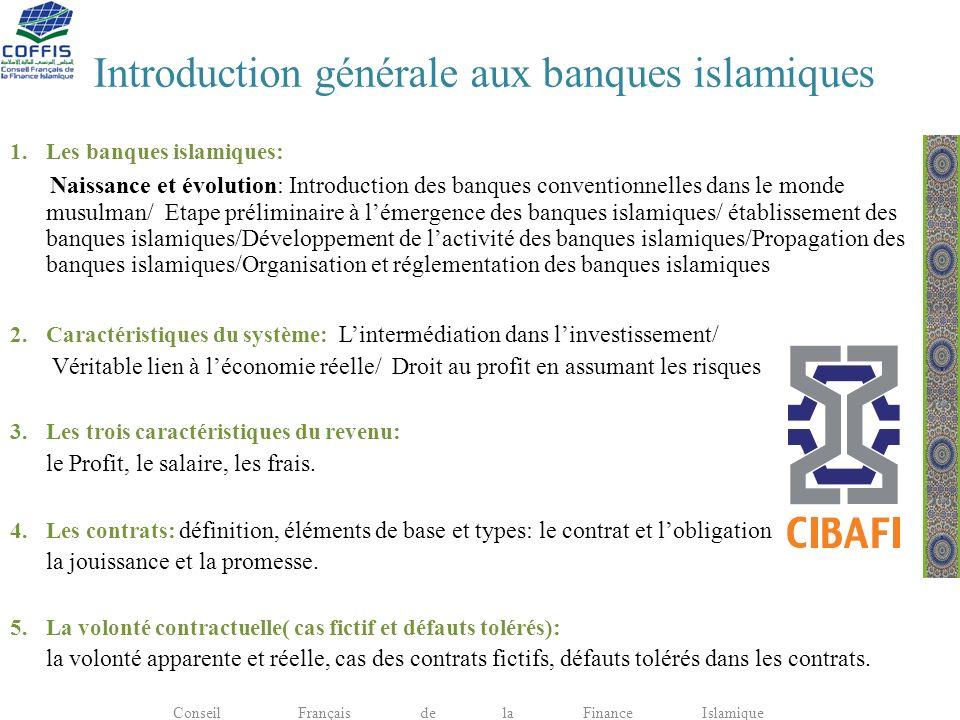 Introduction générale aux banques islamiques