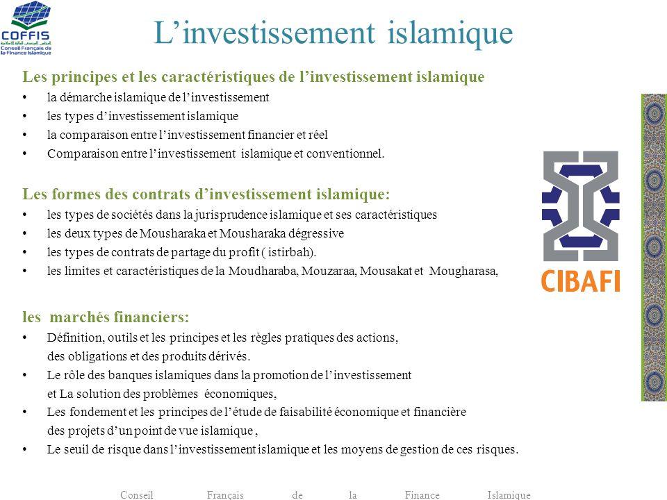 L'investissement islamique