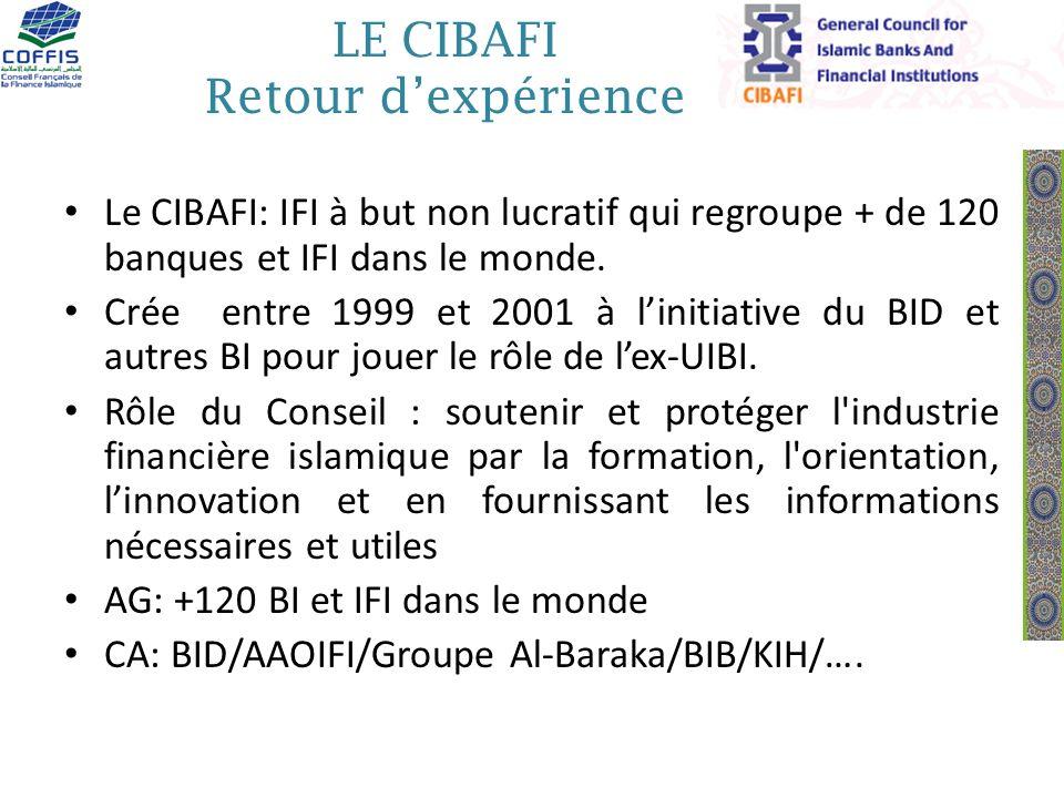 LE CIBAFI Retour d'expérience