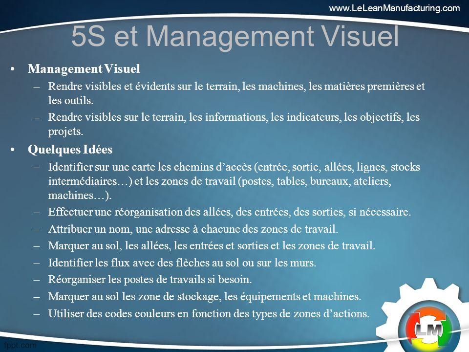 5S et Management Visuel Management Visuel Quelques Idées