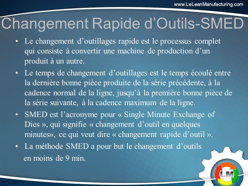 Changement Rapide d'Outils-SMED