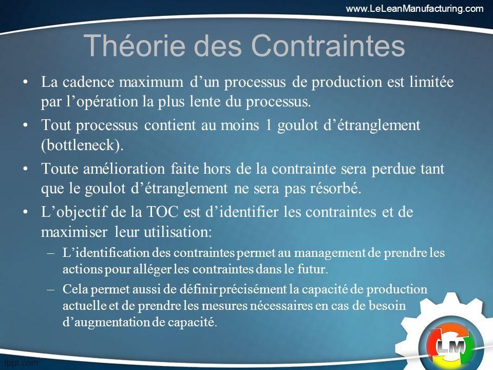 Théorie des Contraintes