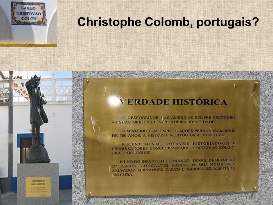 Christophe Colomb, portugais