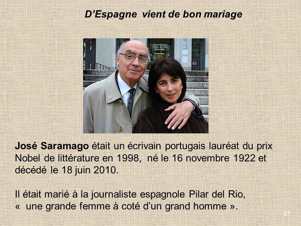 D'Espagne vient de bon mariage