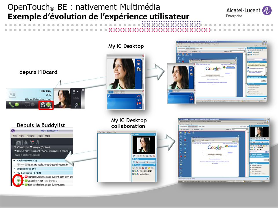 My IC Desktop collaboration