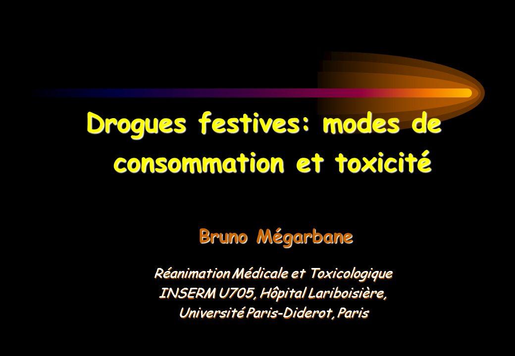Drogues festives: modes de consommation et toxicité