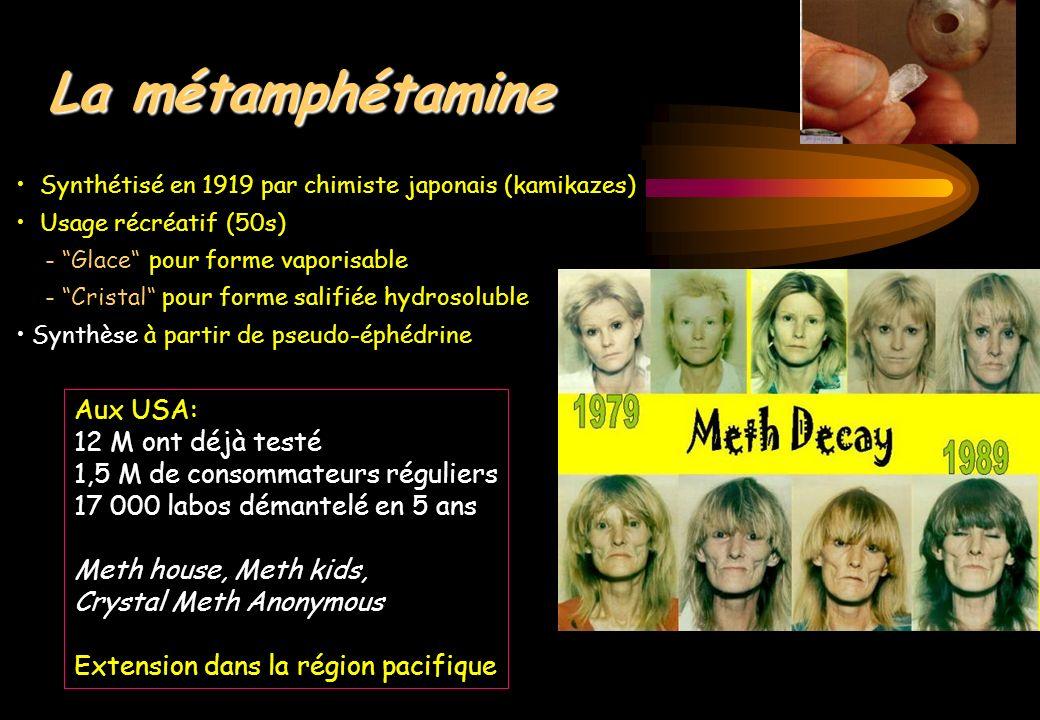 La métamphétamine Aux USA: 12 M ont déjà testé