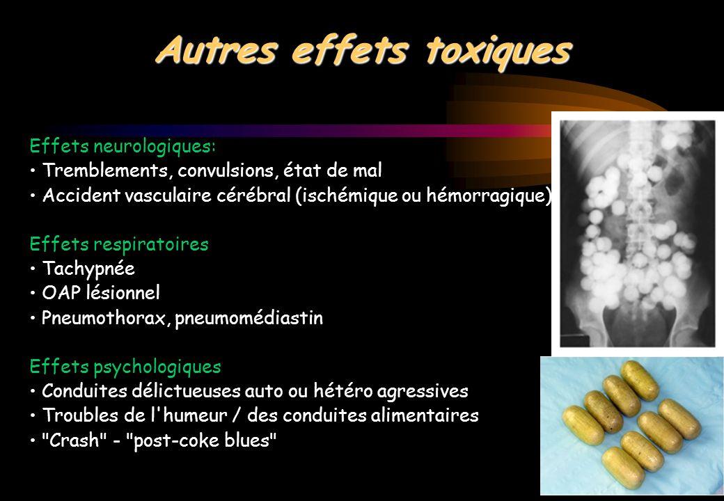 Autres effets toxiques