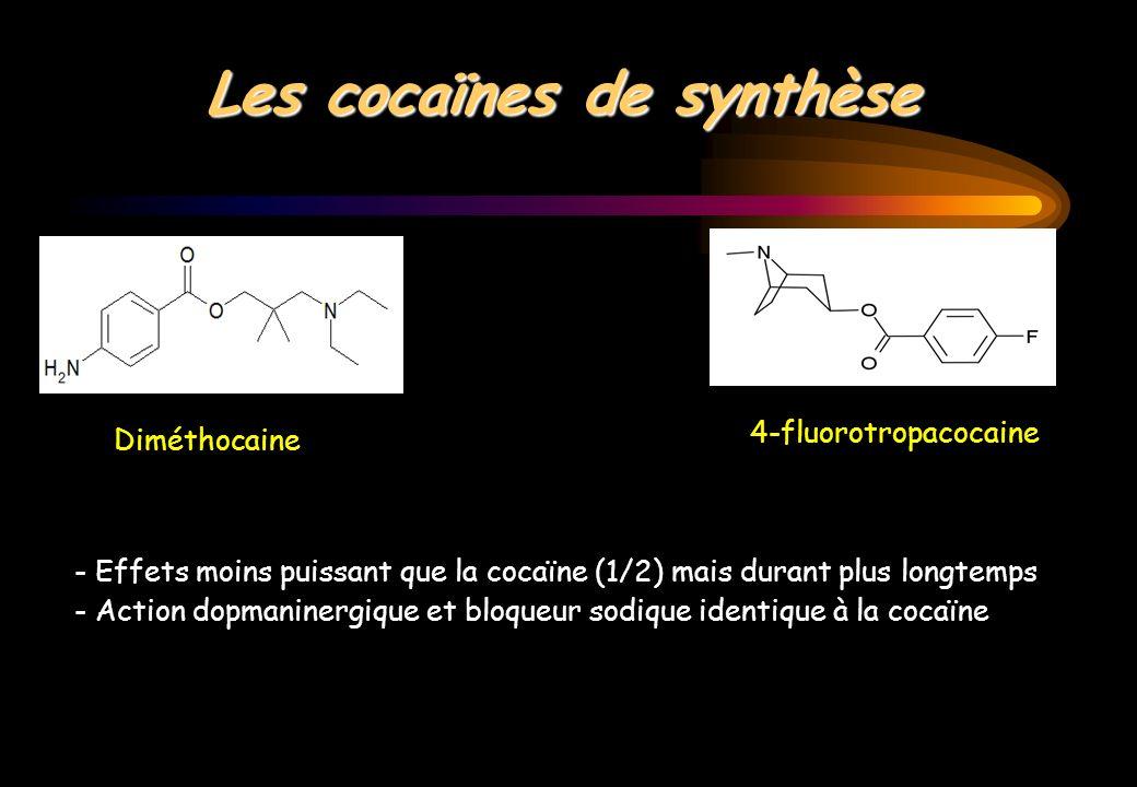 Les cocaïnes de synthèse