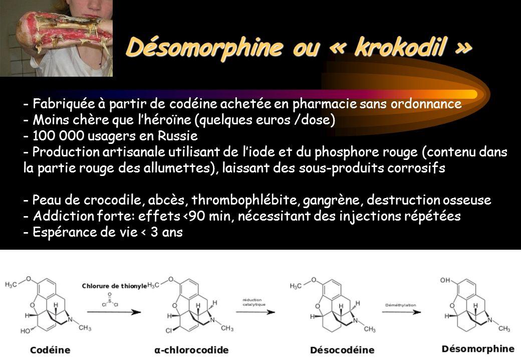 Désomorphine ou « krokodil »