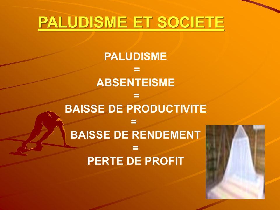 BAISSE DE PRODUCTIVITE