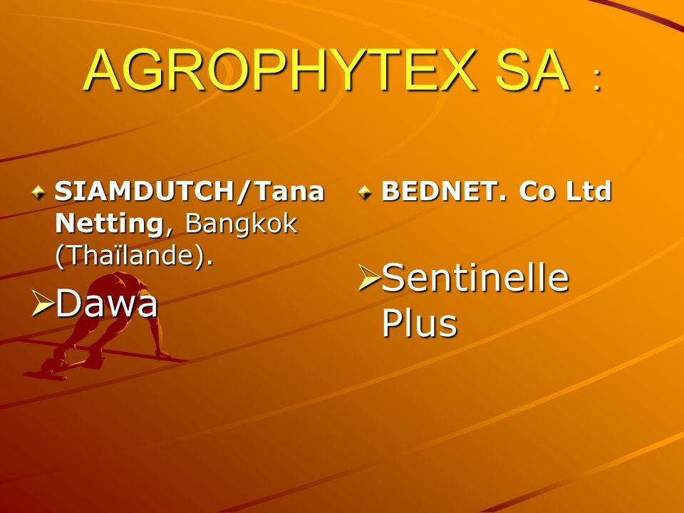 AGROPHYTEX SA : Sentinelle Plus Dawa