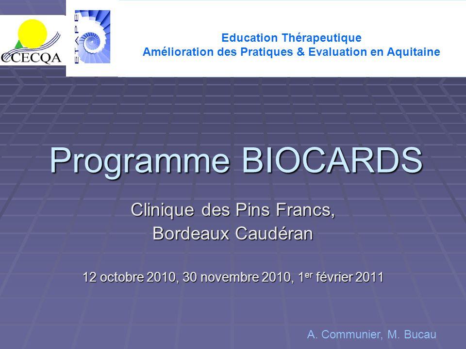 Amélioration des Pratiques & Evaluation en Aquitaine