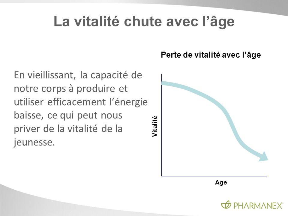 La vitalité chute avec l'âge