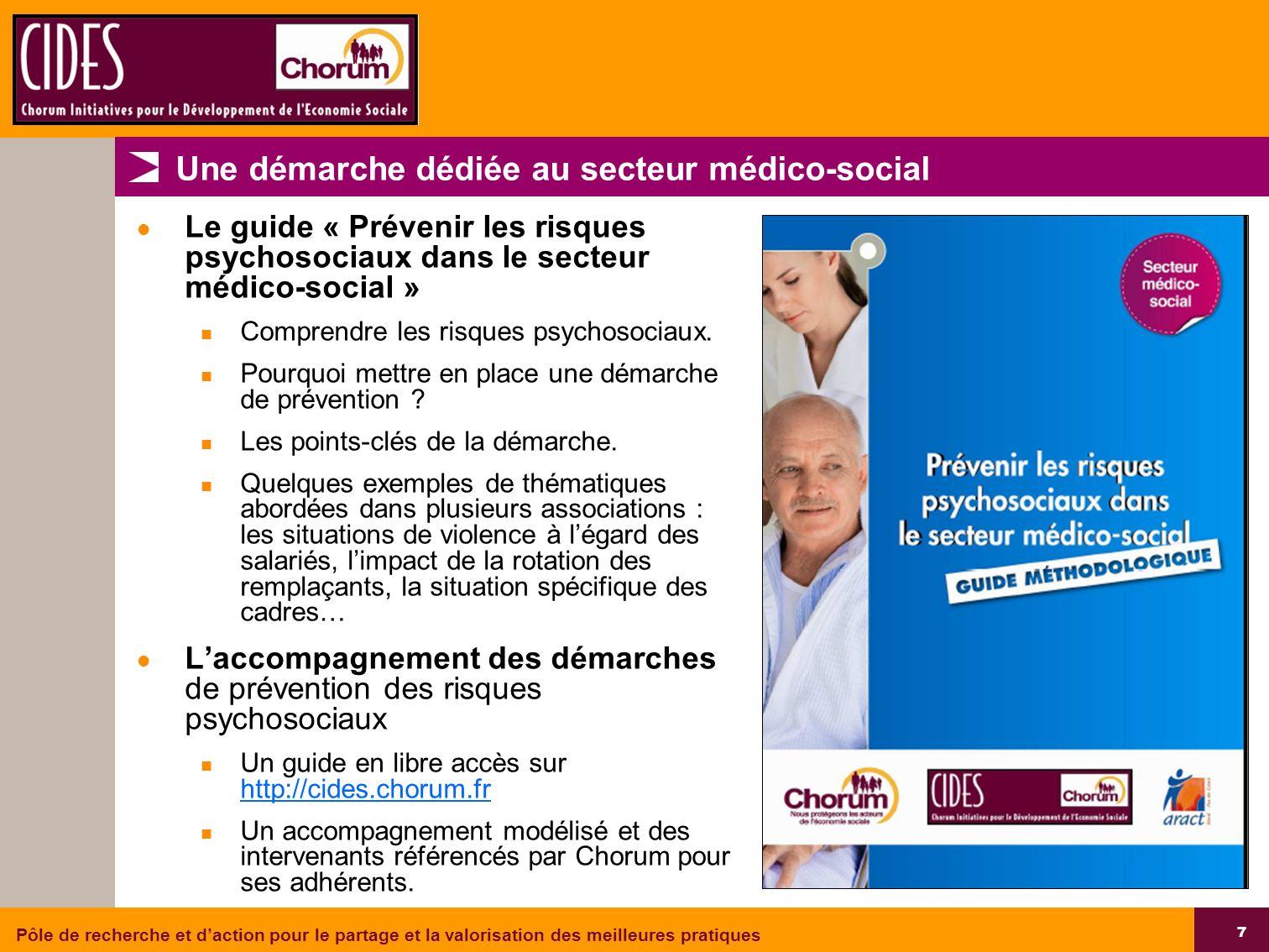 Une démarche dédiée au secteur médico-social