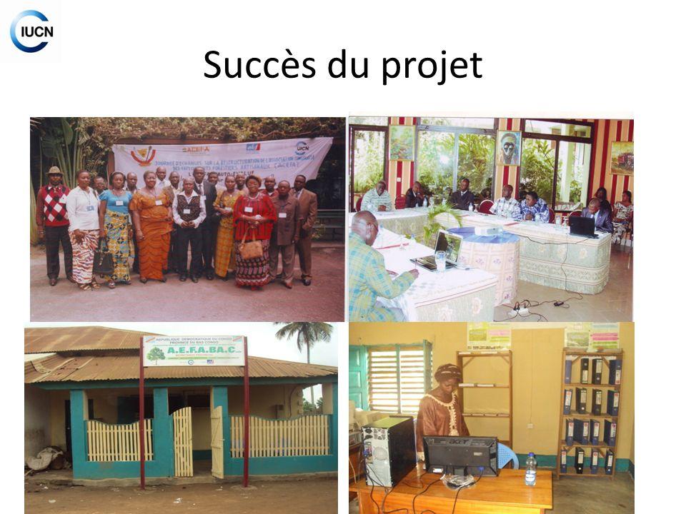 Succès du projet