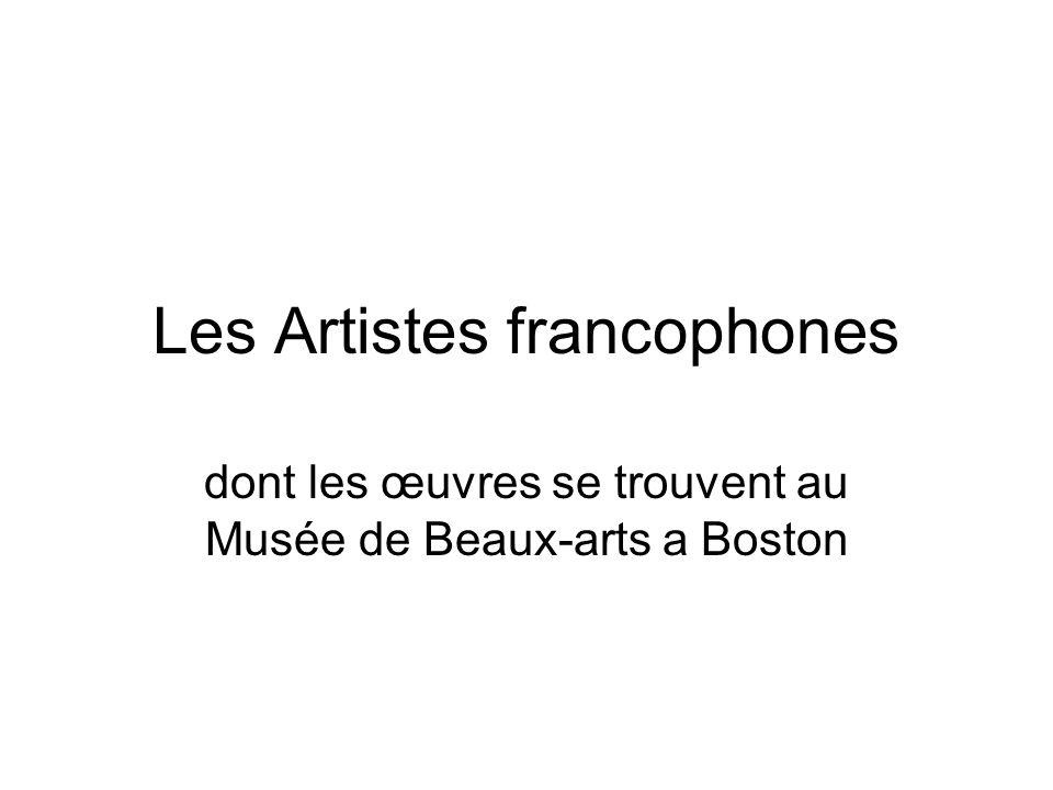 Les Artistes francophones