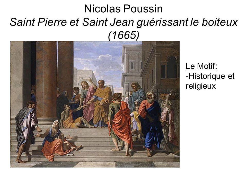 Nicolas Poussin Saint Pierre et Saint Jean guérissant le boiteux (1665)