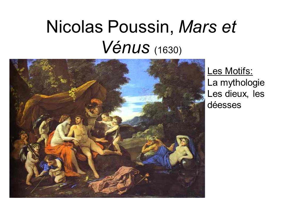 Nicolas Poussin, Mars et Vénus (1630)