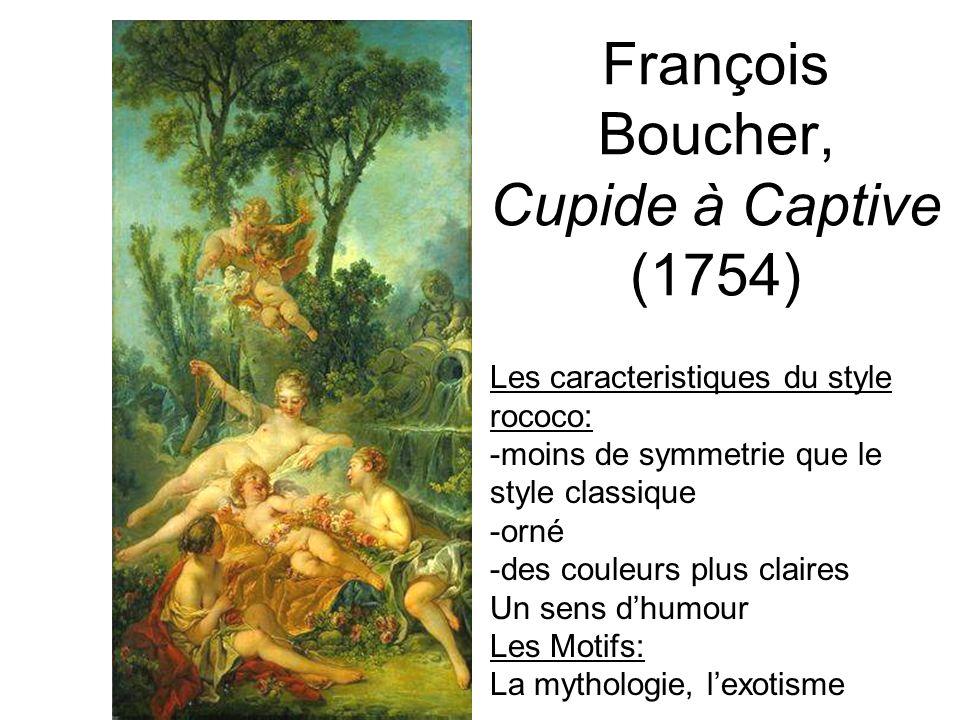 François Boucher, Cupide à Captive (1754)