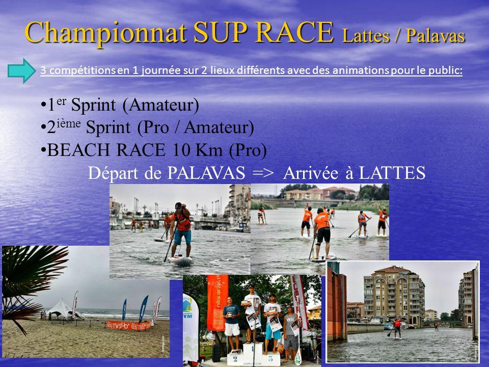Championnat SUP RACE Lattes / Palavas
