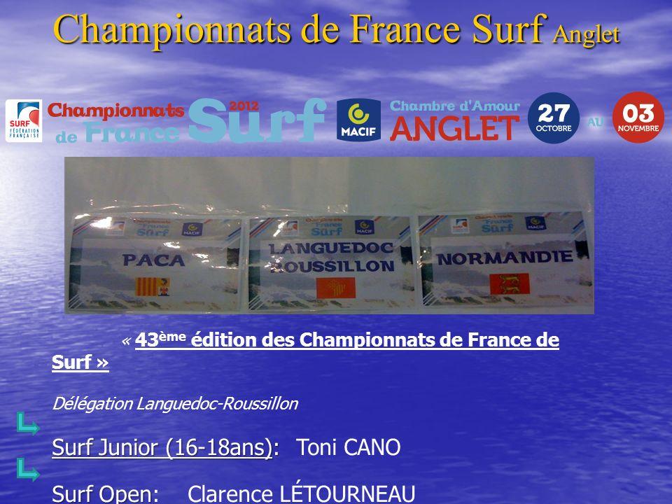 Championnats de France Surf Anglet