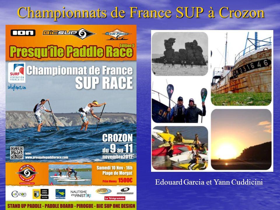 Championnats de France SUP à Crozon