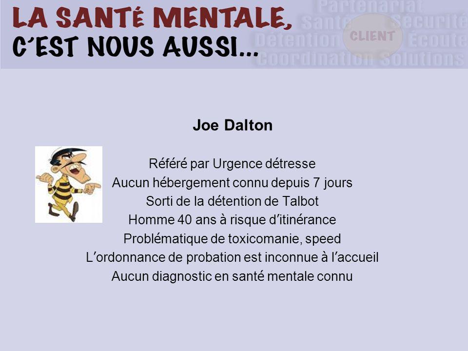 Joe Dalton Référé par Urgence détresse
