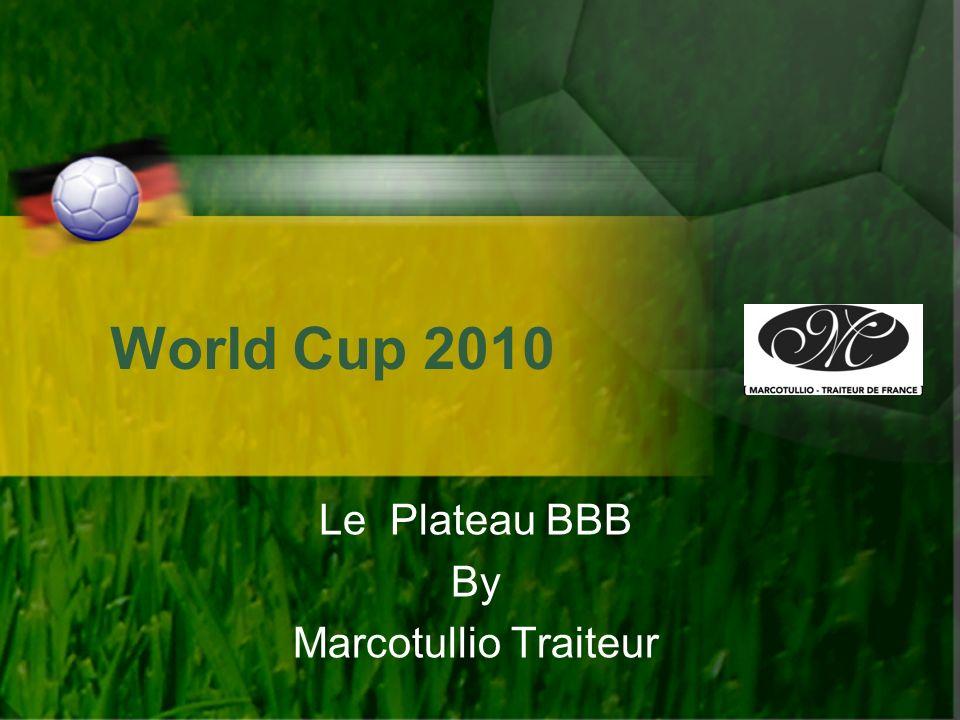 Le Plateau BBB By Marcotullio Traiteur