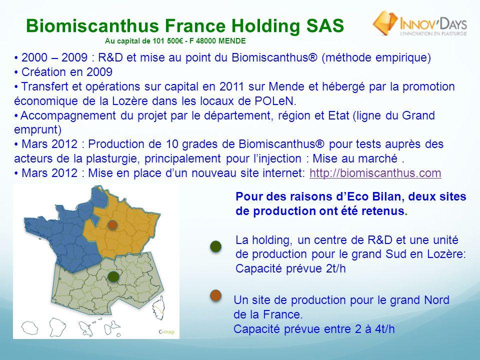 Biomiscanthus France Holding SAS