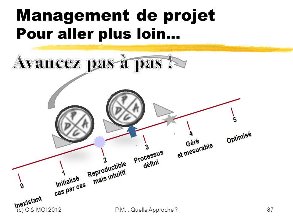 Management de projet Pour aller plus loin…