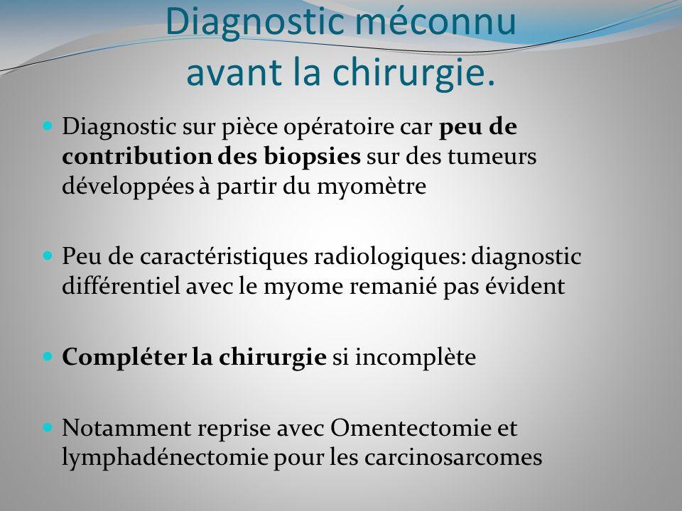 Diagnostic méconnu avant la chirurgie.