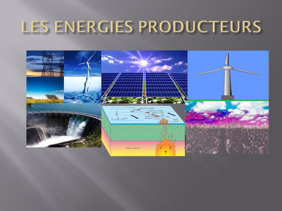 LES ENERGIES PRODUCTEURS